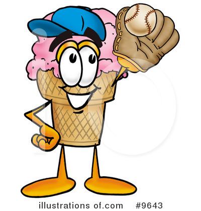 Ice Cream Cone Clipart #9643 by Toons4Biz