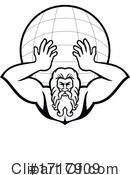 Atlas Clipart #1717909 by patrimonio