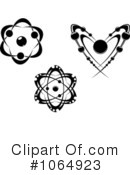 Atoms Clipart #1064923 by Vector Tradition SM