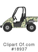 Royalty-Free (RF) Atv Clipart Illustration #18937