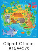 Aussie Animals Clipart #1244576