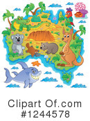 Aussie Animals Clipart #1244578