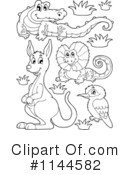 Australian Animals Clipart #1144582