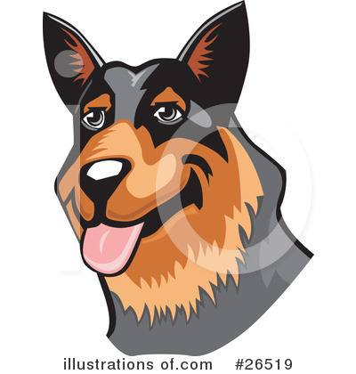 Dogs Clipart #26519 by David Rey