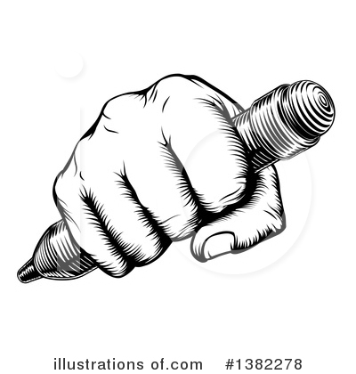 Royalty-Free (RF) Author Clipart Illustration by AtStockIllustration - Stock Sample #1382278
