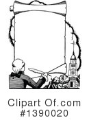 Royalty-Free (RF) Author Clipart Illustration #1390020