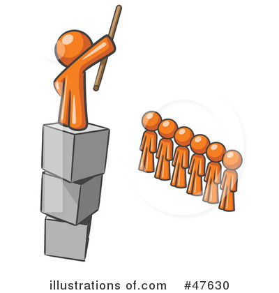 Authority Clipart #47630 - Illustration by Leo Blanchette