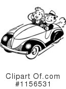 Royalty-Free (RF) Automotive Clipart Illustration #1156531