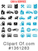 Royalty-Free (RF) Automotive Clipart Illustration #1361283