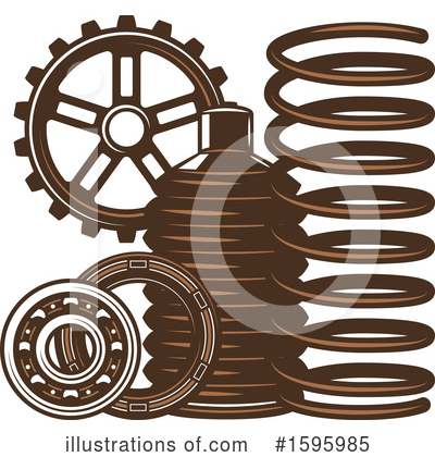 Automotive Clipart #1595985 by Vector Tradition SM