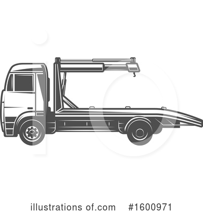 Truck Clipart #1600971 by Vector Tradition SM