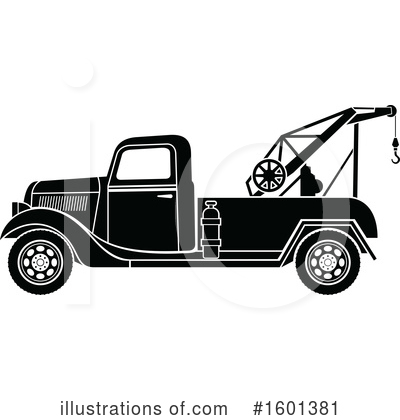 Truck Clipart #1601381 by Vector Tradition SM