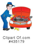 Royalty-Free (RF) automotive Clipart Illustration #435179