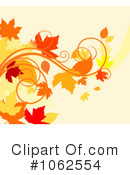 Autumn Background Clipart #1062554 by Vector Tradition SM