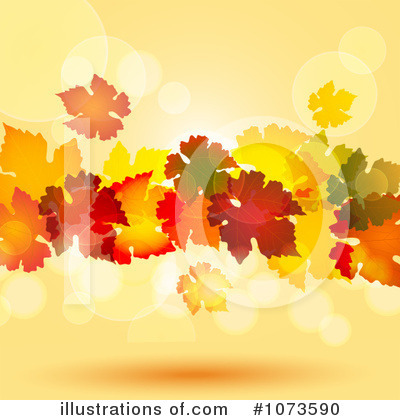 Autumn Leaf Clipart #1073590 by elaineitalia