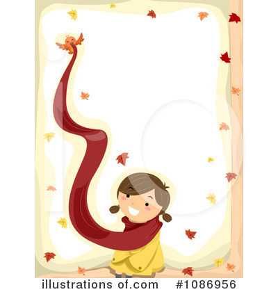 Royalty-Free (RF) Autumn Clipart Illustration by BNP Design Studio - Stock Sample #1086956