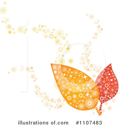 Autumn Leaf Clipart #1107483 by Amanda Kate