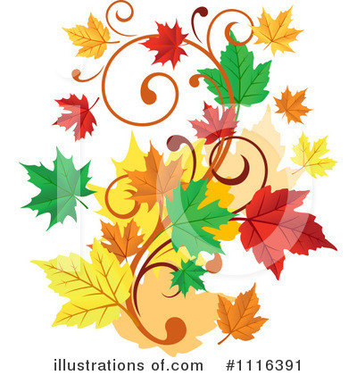 Autumn Clipart #1116391 - Illustration by Vector Tradition SM