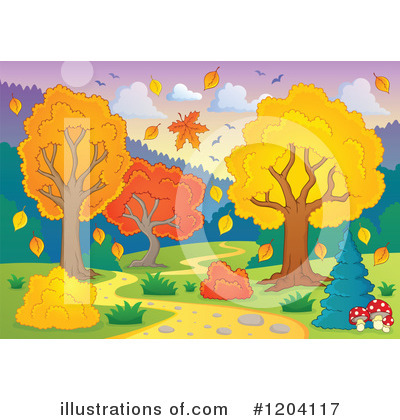 Seasons Clipart #1204117 by visekart