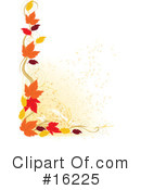 Royalty-Free (RF) Autumn Clipart Illustration #16225
