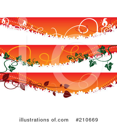 Banners Clipart #210669 by MilsiArt