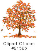 Royalty-Free (RF) Autumn Clipart Illustration #21526