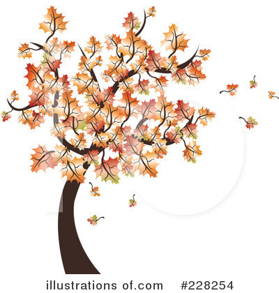 Royalty-Free (RF) Autumn Clipart Illustration by MilsiArt - Stock Sample #228254