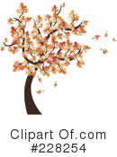 Royalty-Free (RF) Autumn Clipart Illustration #228254