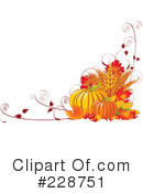 Royalty-Free (RF) Autumn Clipart Illustration #228751