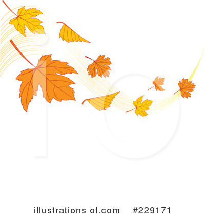 Autumn Leaf Clipart #229171 by Pushkin