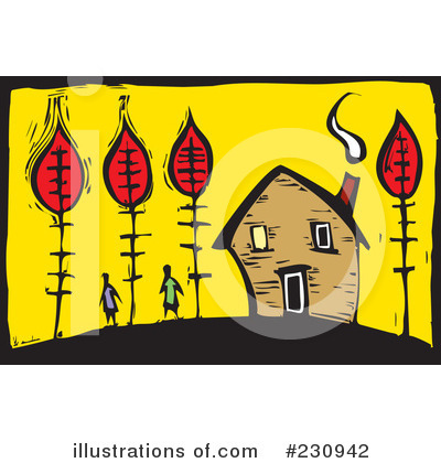Royalty-Free (RF) Autumn Clipart Illustration by xunantunich - Stock Sample #230942