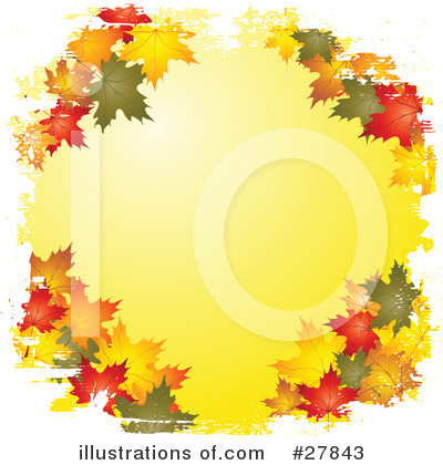 Leaves Clipart #27843 by KJ Pargeter