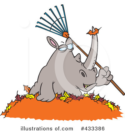 Rhino Clipart #433386 by toonaday