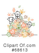 Royalty-Free (RF) Autumn Clipart Illustration #68613