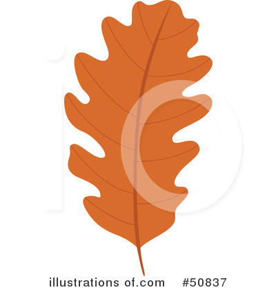 Royalty-Free (RF) Autumn Leaf Clipart Illustration by Cherie Reve - Stock Sample #50837