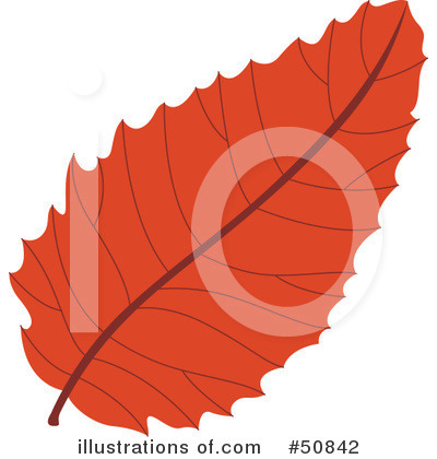 Autumn Leaf Clipart #50842 by Cherie Reve