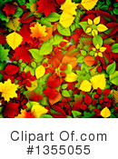 Autumn Leaves Clipart #1355055 by vectorace