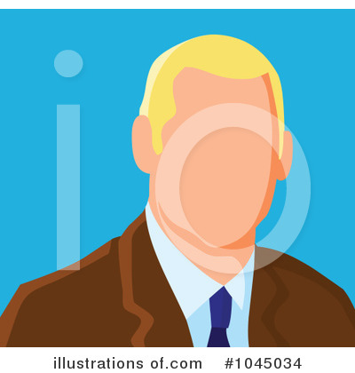Businessman Clipart #1045034 by yayayoyo