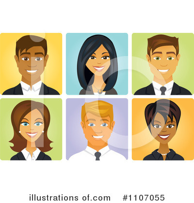 Businesswoman Clipart #1107055 by Amanda Kate