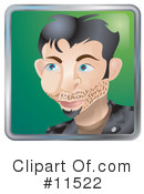 Royalty-Free (RF) avatar Clipart Illustration #11522