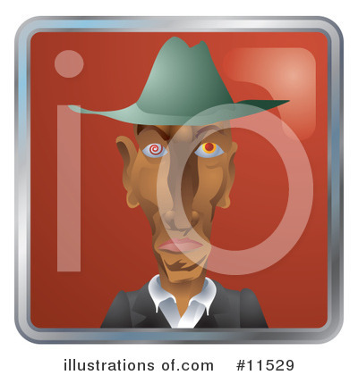 Royalty-Free (RF) Avatar Clipart Illustration by AtStockIllustration - Stock Sample #11529