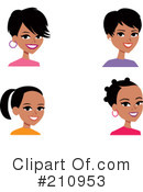 Royalty-Free (RF) Avatar Clipart Illustration #210953