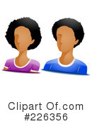 Royalty-Free (RF) Avatar Clipart Illustration #226356