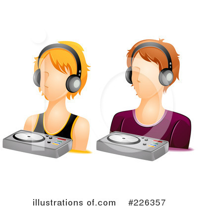 Dj Clipart #226357 by BNP Design Studio