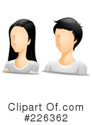 Royalty-Free (RF) Avatar Clipart Illustration #226362