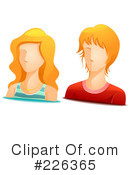 Royalty-Free (RF) Avatar Clipart Illustration #226365