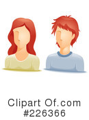 Royalty-Free (RF) Avatar Clipart Illustration #226366