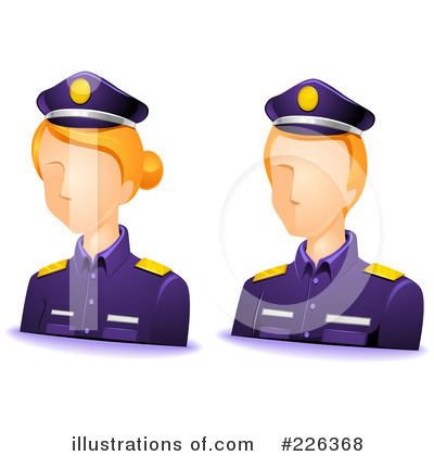 Police Clipart #226368 by BNP Design Studio