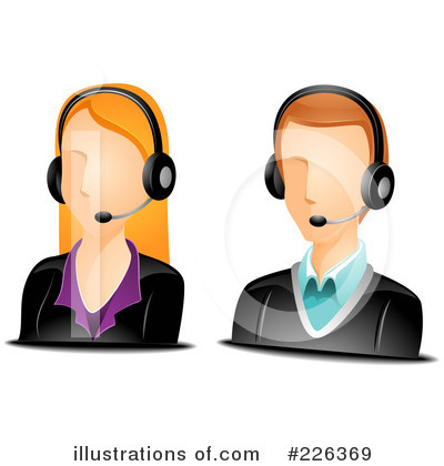 Headset Clipart #226369 by BNP Design Studio