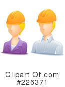 Royalty-Free (RF) Avatar Clipart Illustration #226371